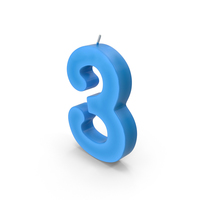 Number Candles PNG & PSD Images