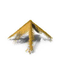 Yellow Ivy Pyramid PNG & PSD Images