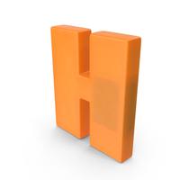 Letter H Fridge Magnet PNG & PSD Images