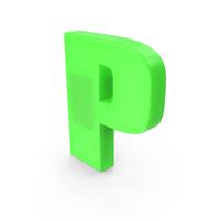 Letter P Fridge Magnet PNG & PSD Images