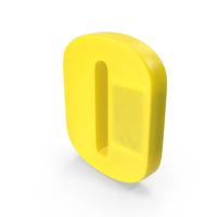 Number 0 Fridge Magnet PNG & PSD Images