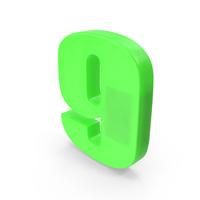 Number 9 Fridge Magnet PNG & PSD Images