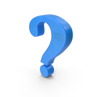 Question Mark Fridge Magnet PNG & PSD Images
