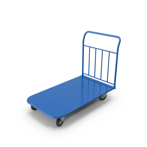 Small Platform Hand Truck PNG & PSD Images