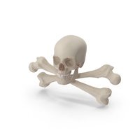 Skull and Cross Bones PNG & PSD Images
