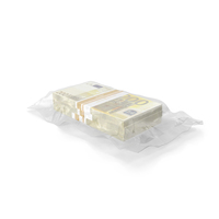 Wrapped Bills of Money 200 Euro PNG & PSD Images