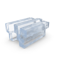 Ice Blocks Stack PNG & PSD Images