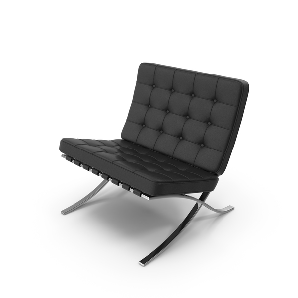 Knoll Barcelona Chair PNG & PSD Images