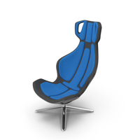 Flight Space Swivel Chair PNG & PSD Images