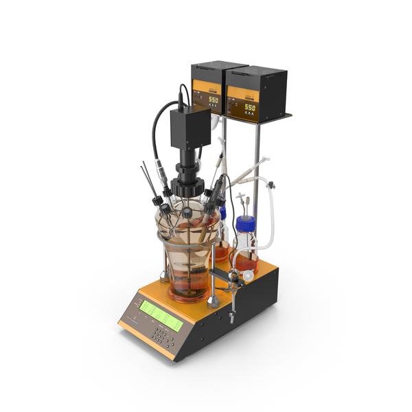 Lambda Minifor Bioreactor Fermentor PNG & PSD Images