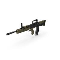 L85A2 Bullpup Assault Rifle PNG & PSD Images