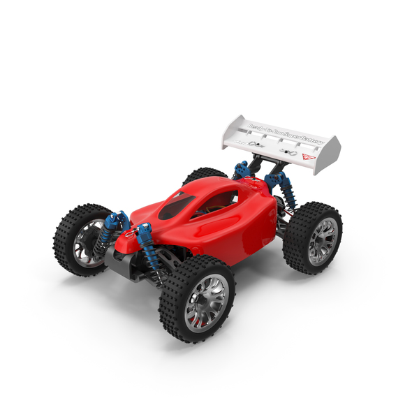 HSP RC Red Buggy PNG & PSD Images