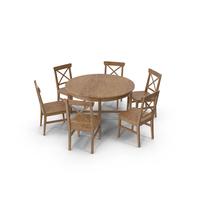 Ikea Leksvik Dining Room Set PNG & PSD Images