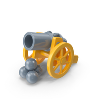 Toy Cannon PNG & PSD Images