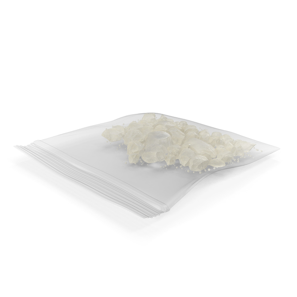 Small Bag of Crystal Meth PNG & PSD Images