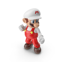 Mario Fire Costume PNG & PSD Images