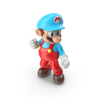 Mario Ice Costume PNG & PSD Images