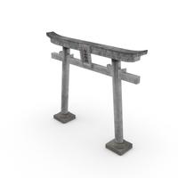Japanese Shrine Gate PNG & PSD Images