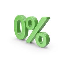 Green Zero Percent PNG & PSD Images