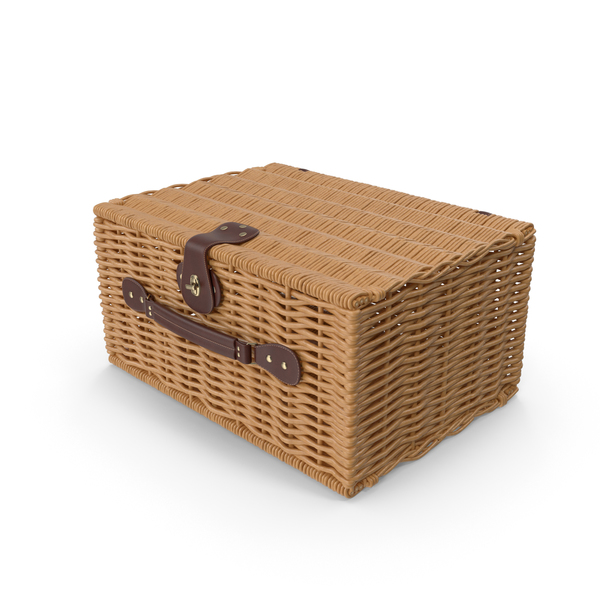 Willow Picnic Basket PNG & PSD Images
