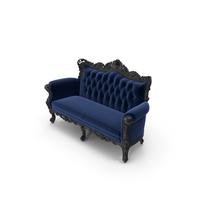 Belle de Fleur French Love Seat by Fabulous & Baroque PNG & PSD Images