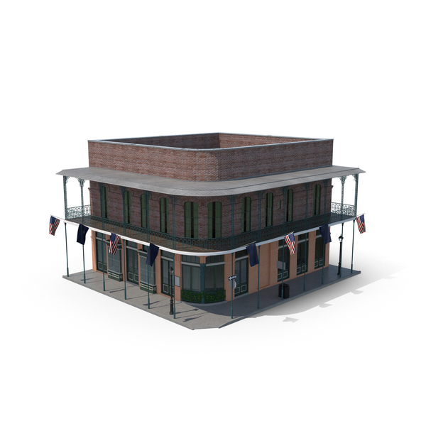 New Orleans Building PNG & PSD Images