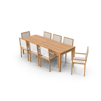 Patio Dining Table PNG & PSD Images