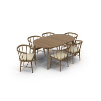 Patio Dining Table Round PNG & PSD Images