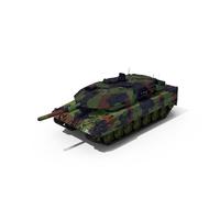 German Battle Tank Leopard 2A5 PNG & PSD Images