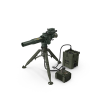 BGM-71 TOW Missile System Tripod PNG & PSD Images