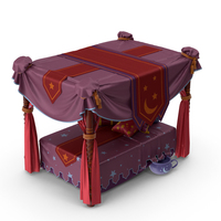 Bed with Canopy PNG & PSD Images