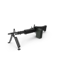 M60 Machine Gun PNG & PSD Images