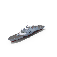 LCS-1 USS Freedom Littoral Combat Lead Ship PNG & PSD Images