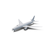 Boeing 777 Freighter Generic PNG & PSD Images