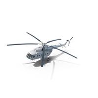 Mi-8 Hip United Nations Medium Transport Helicopter PNG & PSD Images