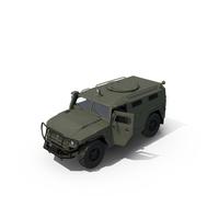Russian Mobility Vehicle GAZ Tigr M PNG & PSD Images