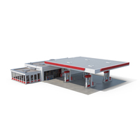 Petrol Station PNG & PSD Images