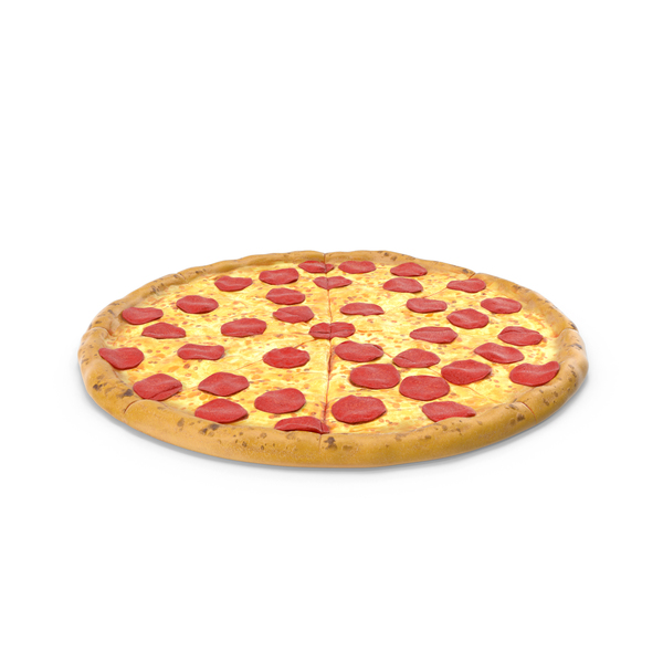 Whole Pepperoni Pizza PNG & PSD Images
