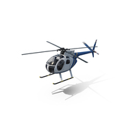 Light Helicopter Hughes OH-6 Cayuse PNG & PSD Images