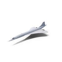 Concorde Supersonic Passenger Jet Airliner PNG & PSD Images
