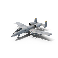 A-10 Thunderbolt II PNG & PSD Images