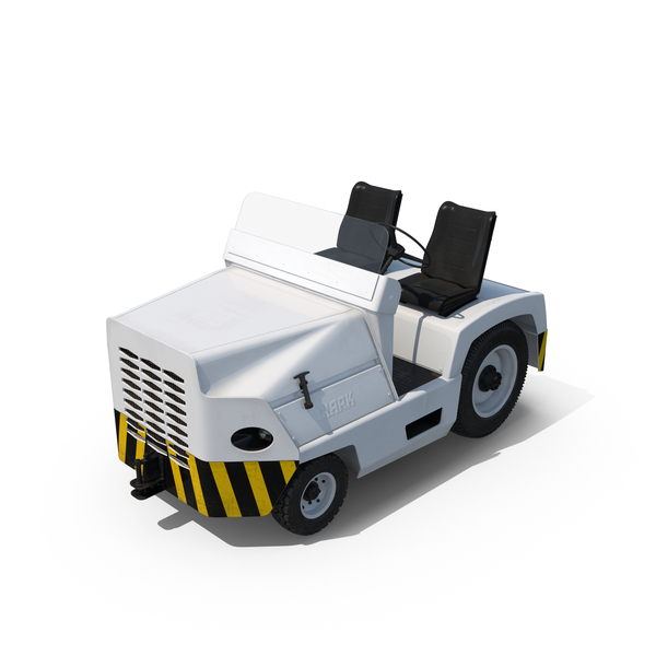 Aircraft Tow Tractor PNG & PSD Images