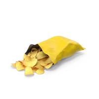 Potato Chip Bag PNG & PSD Images