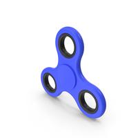 Blue Fidget Spinner PNG & PSD Images