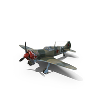La-5 WWII Soviet Fighter Aircraft PNG & PSD Images