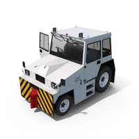 Airport Tug Hallam HE50 PNG & PSD Images
