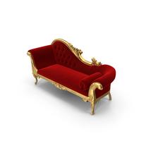 Fabulous & Baroque Queen Anne's Revenge Chaise PNG & PSD Images