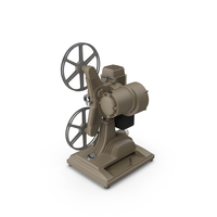 Revere Film Projector PNG & PSD Images