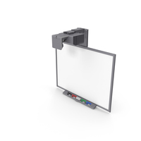 Smart Board 660 Interactive Whiteboard Projector PNG & PSD Images