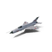 Russian MiG-21 Fishbed PNG & PSD Images